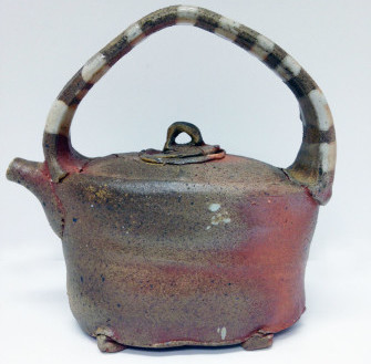 Tea pot by David Ernster at the League of NH Craftsmen-Littleton