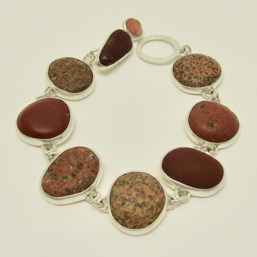 Natural stone jewelry by Blair Labella available at the Littleton League gift shop. Each piece one of a kind